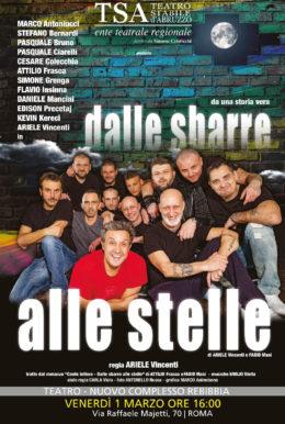Dalle sbarre alle stelle - Spettacolo al Teatro di Rebibbia - 1 marzo 2019