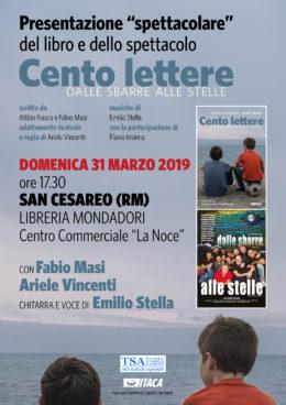 """""""Cento lettere"""" - Presentazione a San Cesareo - 31 marzo 2019"""