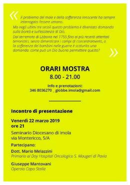 Giobbe e l'enigma della sofferenza - mostra a Imola - 23-31 marzo 2019