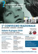 Le domande grandi dei bambini - Convegno Roma 8 giugno 2019
