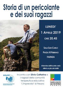 Silvio Cattarina a Faenza - 1 aprile 2019