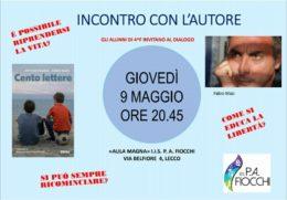 Cento lettere - Incontro con Fabio Masi - Lecco 9 maggio 2019