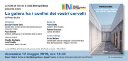 """""""La galera ha i confini dei vostri cervelli"""" di Pietro Buffa - Presentazione al Salone del Libro di Torino 2019"""
