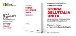 """""""Storia dell'Italia unita"""" di Marcello Croce - Presentazione al Salone del Libro di Torino 2019"""