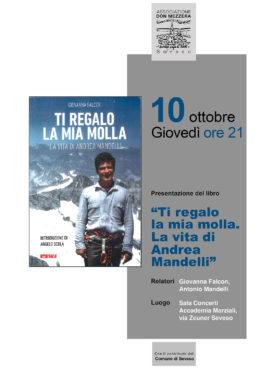 Ti regalo la mia molla - Presentazione del libro di Andrea Mandelli a Seveso - 10 ottobre 2019