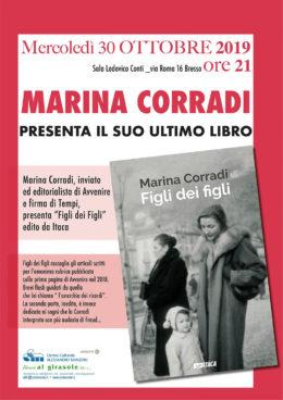 Figli dei figli - Marina Corradi presenta il suo libro a Bresso - 30 ottobre 2019