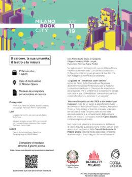 """Milano BookCity 2019 - Presentazione libro di Pietro Buffa """"La galera ha i confini dei vostri cervelli"""" - 15 novembre 2019"""