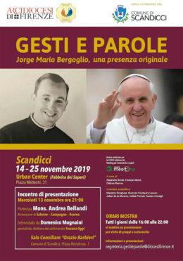Jorge Mario Bergoglio, una presenza originale - Presentazione - Scandicci 13-11-2019