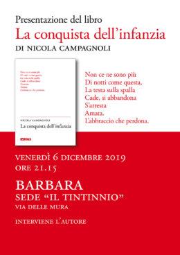La conquista dell'infanzia - Presentazione a Barbara (MC) 6.12.2019