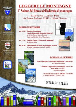 """""""Andrea Chaves. Il poeta e le montagne"""" - Presentazione al 9° Salone del libro e dell'editoria di montagna - Genova 30.11.2019"""