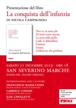 La conquista dell'infanzia - Presentazione a San Severino Marche 21.12.2019