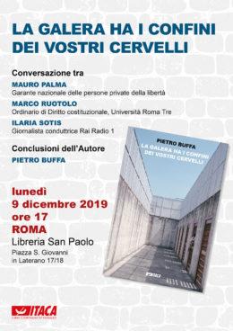 La galera ha i confini dei vostri cervelli -  Presentazione a ROMA 9-12-2019