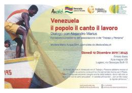 Venezuela il popolo il canto il lavoro - Lugano 12.12.2019