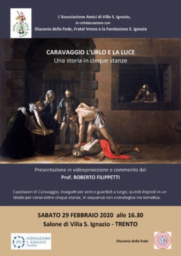 Caravaggio. L'urlo e la luce - Incontro con Roberto Filippetti - Trento 29 febbraio 2020