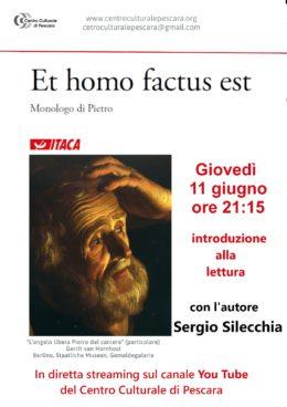 Et homo factus est - Presentazione a cura del Centro Culturale di Pescara