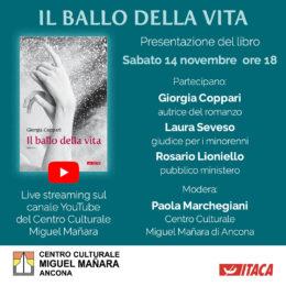 Il ballo della vita di Giorgia Coppari - presentazione 14 novembre 2020