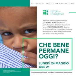 Il bene che permane - Dialoga con Elena Bonetti e Stefano Zamagni - 24 maggio 2021